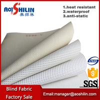 Non-poisonous solar screen blind fabric