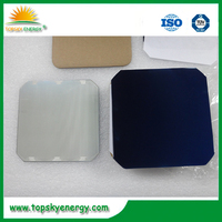 Stock 5 inch mono solar cell for bulk quantity order, Also have dog bone for sale