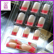 Professional salon Pre-design Full Acrylic nail art tips/ False nail art Tips 24pcs AA