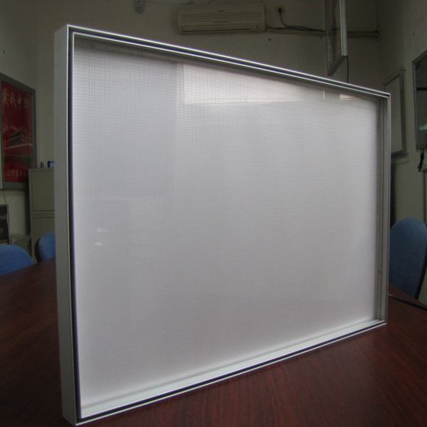 wholesale edge light frameless light box picture frame for