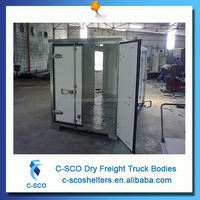Hot sale american cargo truck bodies for sale