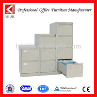 High end 2,3,4 drawer metal locker cabinet , room furniture