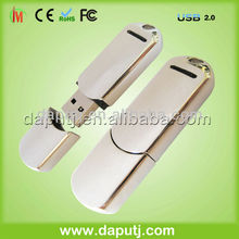 New style 2012! customized metal usb flash disk as gift
