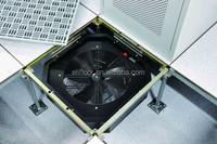 Data center temperature control fan system