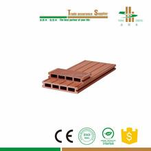 Artificial outdoor wood plastic composite decking flooring