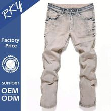 Hot New Products Custom Color Color Fade Proof Boys Jeans Capri