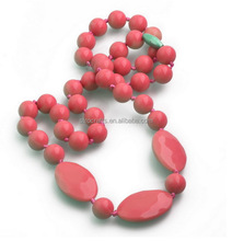 Designer new arrival wholesale silicone beaded for necklace