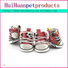Best design nice pattern sport pet dog shoes