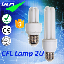 CFL China Suppliers Cheap Lamp Fluorescent Light Tubes With U Shape