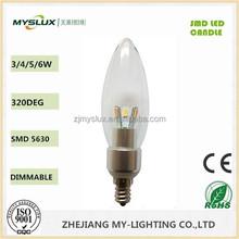 Smd Bulb Candle Light 5630 Bulb 110V-220V 2700K/4000K/6500K