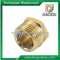 well quality forged brass knurled insert cap for pipe fittings