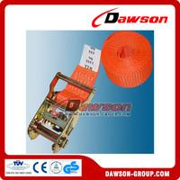 Dawson cargo lashing belt ratchet tie down with no hook