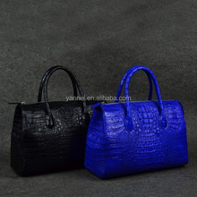 2015 genuine crocodile skin handbag_exotic handbag_crocodile tote_exotic handbag