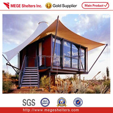 GEL container villa with roof tent