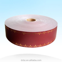 cigarette tipping paper for wrapping filter plug