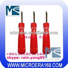 Vacuum wheel tire valve core tool fluorine valve core wrench key automotive air conditioning repair tools
