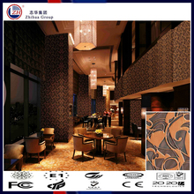 Wholesale cheap fire resistant decorative 3d wood interior wall paneling