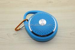 Good quality round shape speaker rechargeable Battery bass wireless outside speaker