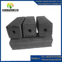 BBQ Charcoal Briquette Shape and Bamboo Sawdust for sale