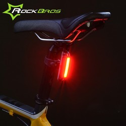 ROCKBROS Waterproof Bike Bicycle Light 30 LED Cycling Taillight Bicicleta Tail Light Safe Warning Light Lamp USB Rechargeable