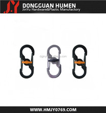 Jinyu high quality fashion carabiner/carabiner keyring