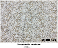 the lastest polyester white color lace curtain