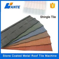 2015 high quality solar roof tiles Stone Coated Metal Roof Tile For House
