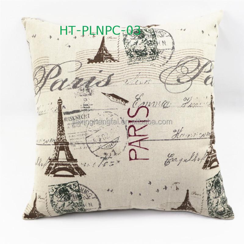 Kerst kussens sofa kussen digitale print katoen linnen kussens vintage groothandel decoratieve - Koffiebar decoratie ...
