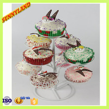 2015 Western Hot Sale 3 Tier 9Cups Rack Cupcake