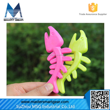 No MOQ Bite-Resistant Fish Bones Pet Toys Soft Rubber Dog Toy Tooth Cleaning Dog Toys