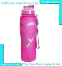 High quality BPA free 2015 style single wall 680ML china wholesale market asian tube china mojito bottle