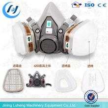 3M 6200 reusable respirator mask ,half face gas mask use with 3M filter /cartridge