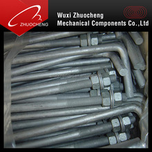 Hot Sale High Quality Zinc Plated Carbon Steel L Bolt and Nut M28