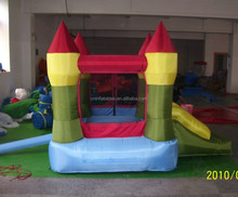 Mini cartoon inflatable jumpers/bouncy castles bouncer/Kids bounce house