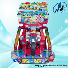 Arcade Indoor Coin Operated Kid's Motorcycle Racing Amusement Games Machine