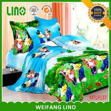 3d cartoon bedding set/ hot sale cartoon bedding sets comforter sets quilts