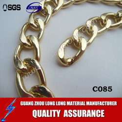 aluminum curb chain, many colors and many shapes avaliable, wholesale jewelry finding