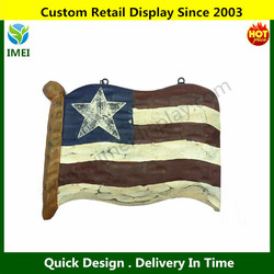 Custom design USA American Flag Plaque,Decorative Sign,New Carved Wooden Boards