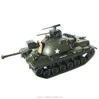 T01 die cast M48 A3 Patton 2-1968 model tank