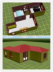 50 Square Meter China Manufacturers Construction Building Prefabricated house plans for Sale