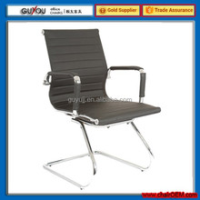 Y-1846B Hot Sale Middle Back Cheaper Swivel Office chair/Staff Chair With PU Leather