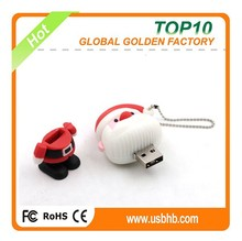 Father christmas usb pen drives import from Shenzhen