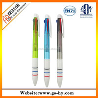 Promotional multifunction pen 3in1 colorful ball point pen
