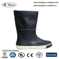 Mens High Quality Rubber Rain Boots For Sailing