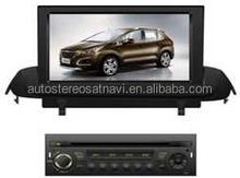 In-dash Car stereo radio/dvd/gps/mp3/3g multimedia system for Peugeot 307
