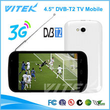 New 4.5'' Android 3G DVB-T2 GPS TV Projector Mobile Phone