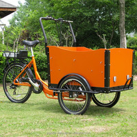 electric cargo flatbed tricycle