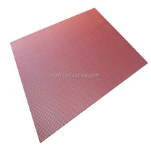 High srtrength color plain carbon fiber fabric plate 3mm (400*500*3mm)