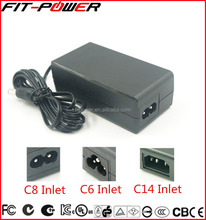 Universal Desktop 12V 3A 50W Power Adapter with UL CE FCC GS Certificate
