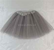free sample polyester tutus cheerleading skirt baby girl pettiskirts
